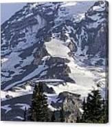 Mt Rainier Portrait Canvas Print