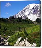 Mt. Ranier Canvas Print