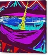 Mt. Shasta Moonlight Canvas Print