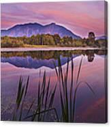 Mt. Si Colors Canvas Print