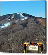 Mt Snow Vermont Canvas Print