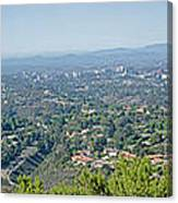 Mt. Soledad - View To The North Canvas Print