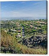 Mt. Soledad - View To The South Canvas Print
