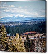 Mt. Spokane Canvas Print