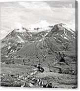 Mt St Helen's Canvas Print