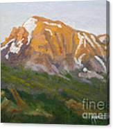 Mt. Tekarra Canvas Print