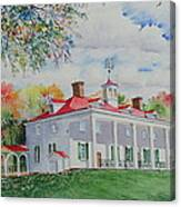 Mt. Vernon In The Fall Canvas Print