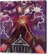 Mt. Vesuvius - Jupiter's Fury Canvas Print