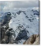 T-703510-mt. Victoria Seen From Mt. Lefroy Canvas Print