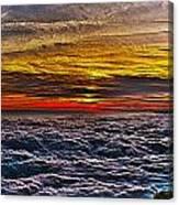 Mt Wilson Sunset Canvas Print