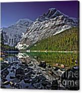 Mt.edith Cavell Canvas Print