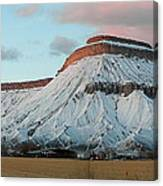 Mt.garfield Winter Canvas Print