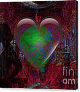 Mucha Love  Canvas Print