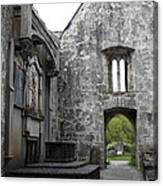 Muckrooss Abbey Ruin Canvas Print