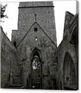 Muckross Abbey Steeple Canvas Print