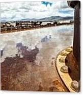 Muddled Reflection Canvas Print
