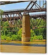 Muddy Mississippi Canvas Print