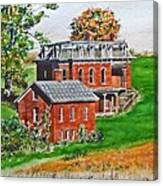Mudhouse Mansion Canvas Print