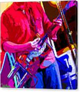Muffler Guitar Canvas Print