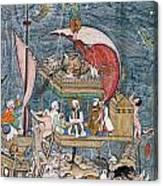 Mughal - Noah's Ark Canvas Print