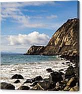 Mugu Rock Canvas Print