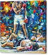 Muhammad Ali Canvas Print