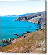 Muir Beach Lookout North View Canvas Print