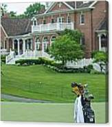 D12w-289 Golf Bag At Muirfield Village Canvas Print
