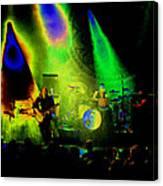 Mule #7 Enhanced Image In Cosmicolor Canvas Print
