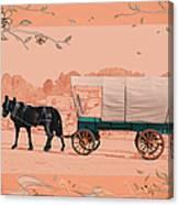 Mule Days - Westmoreland Tn  9-28-13  2 Canvas Print