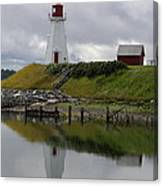Mulholland Point Lighthouse - New Brunswick Canvas Print