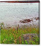 Mulholland Point Lighthouse On  Campobello Island-nb Canvas Print