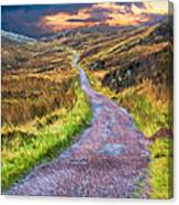 Mull Of Kintyre Canvas Print