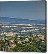 Mullholland Estates Luxury Residences San Fernando Valley Ca Canvas Print