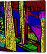 Multi Sensation Colors Canvas Print