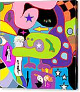 Multifactorialexpoteria Canvas Print