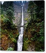 Multnomah Falls Oregon State Waterfall Canvas Print
