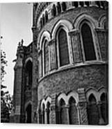 Mumbai University Bw Canvas Print