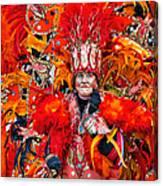 Mummer Red Canvas Print