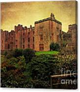Muncaster Castle Canvas Print