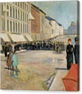 Munch Musik, 1889 Canvas Print