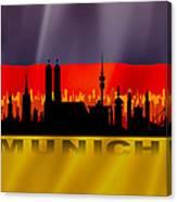 Munich City Canvas Print