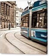 Munich City Traffic Canvas Print