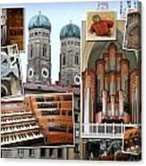 Munich Liebfrau Canvas Print