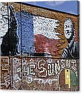 Mural And Graffiti Canvas Print