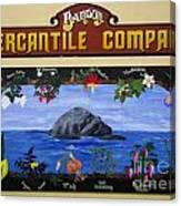 Mural Bandon Mercantile Company Canvas Print