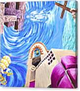 Church Mural Canvas Print