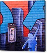 Mural, Nyc, New York City, New York Canvas Print