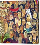 Mural Street Art Ecuador 2 Canvas Print