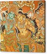Muralpainting Devotion Canvas Print